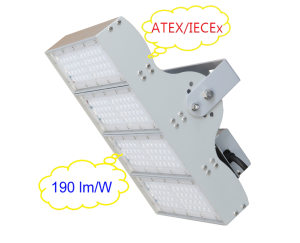 explosionproof led floodlight atex & iecex certificates