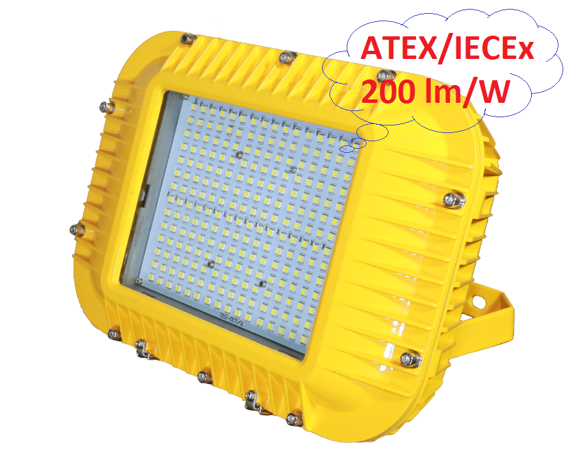 led explosion proof lighting ATEX & IECEx Double Certificates