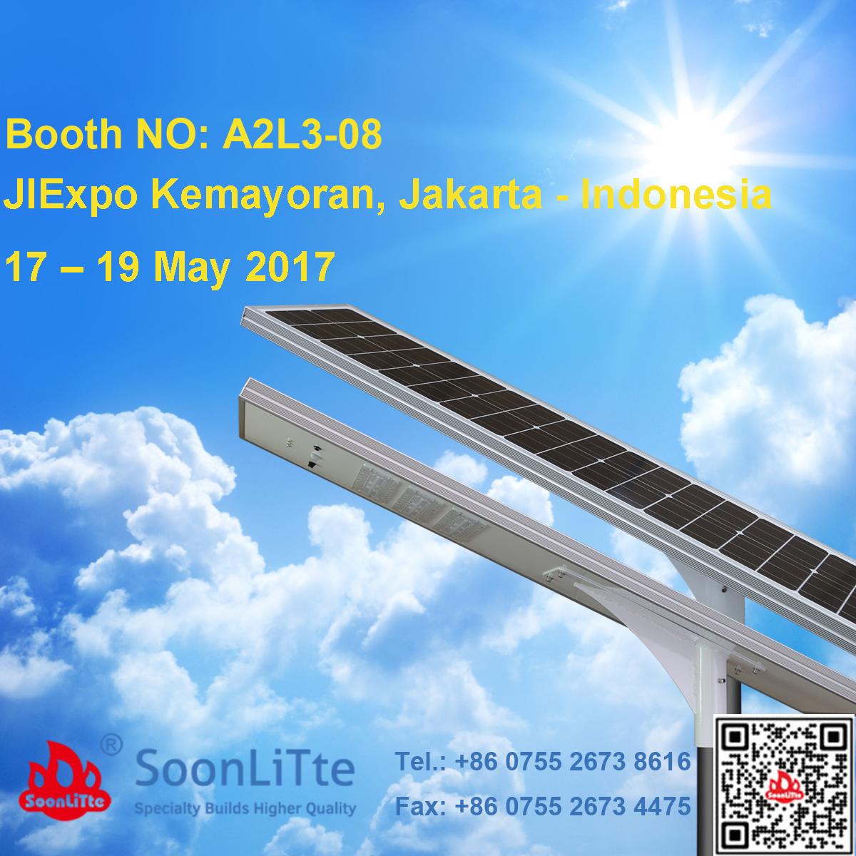 Invitation Letter Exhibition Booth : Welcome to visit us in jiexpo kemayoran jakarta