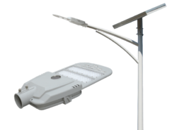 solar led street light with lithium iron phosphate battery